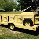 8 hole dog trailer
